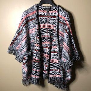 Lipsy London knit short sleeve boho cardigan